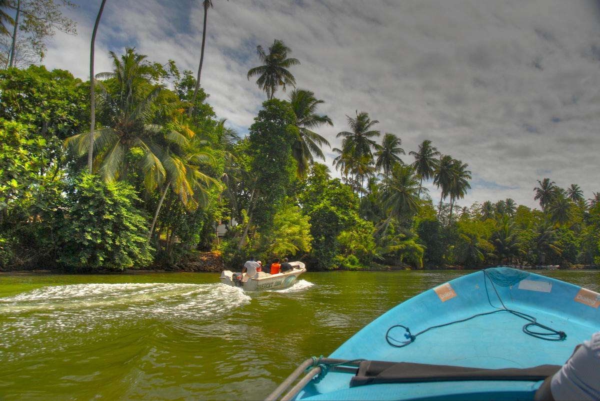 alex Alexs Alex's Cycle Adventure Sri Lanka Boat