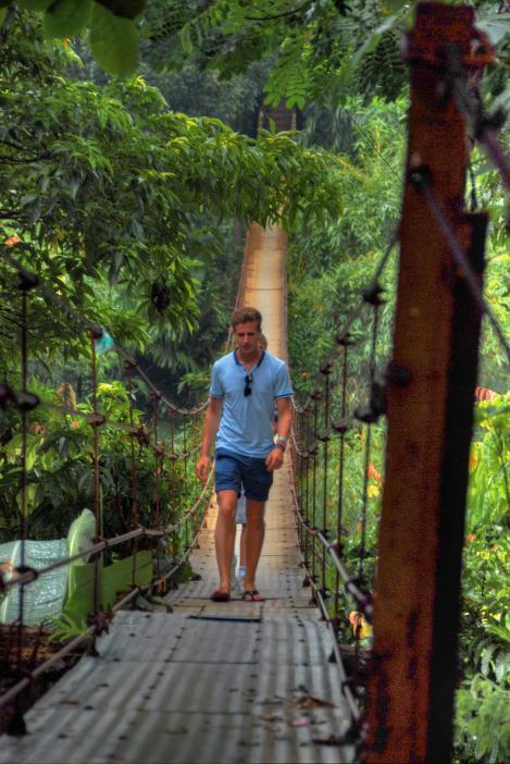 Hiking in the hills sri lanka