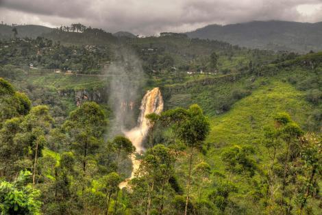 alex Alexs Alex's Cycle Waterfall in Sri Lanka