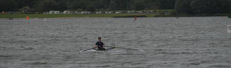 alex Alexs Alex's Cycle Me rowing in some pretty windy conditions