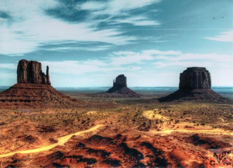Monument Valley, USA. Photograph taken non-digitally Alex Alexs Cycle Alex's