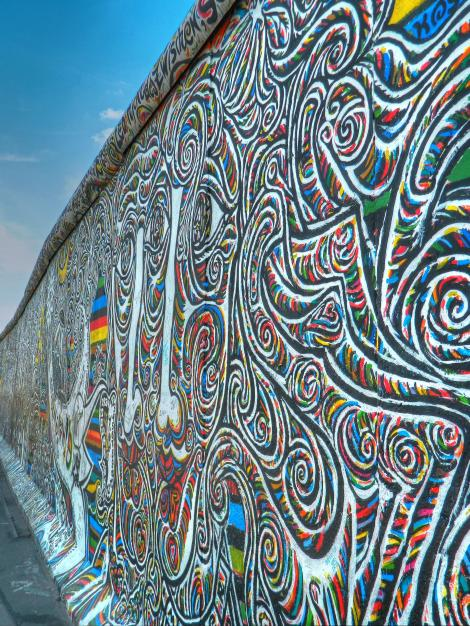 East Side Gallery, Berlin Wall Alex's Cycle
