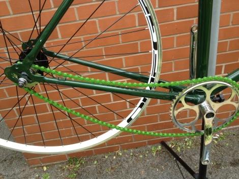 Alex's Cycle Alex Cycling Chain Fixie Build