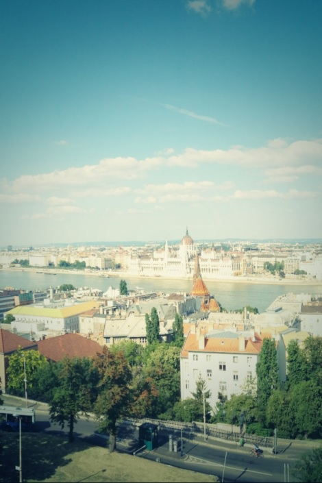 View of Parliament from Buda Castle