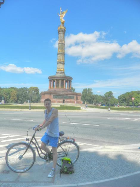 Cycling through the Tiergarten