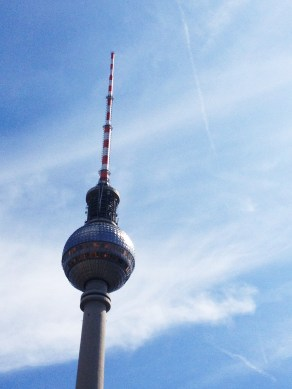 The Fernsehturm, Berlin