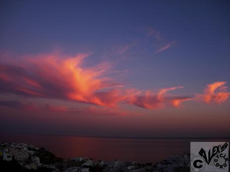 Sunset in Albufeira, Portugal