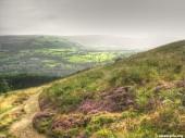 Trail through The Peak District