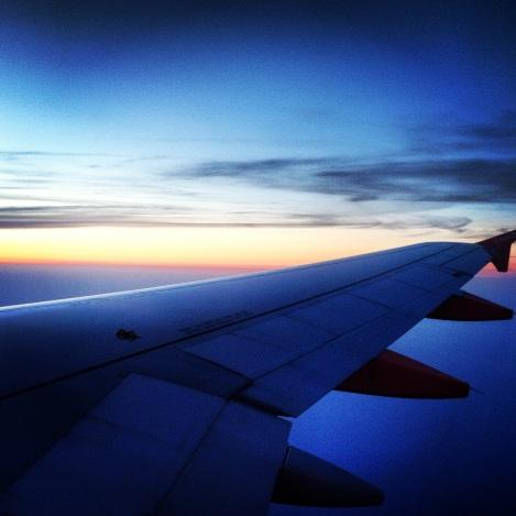 Sunrise in the clouds  ©