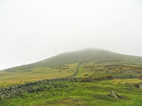 Summit of Moel Arthur