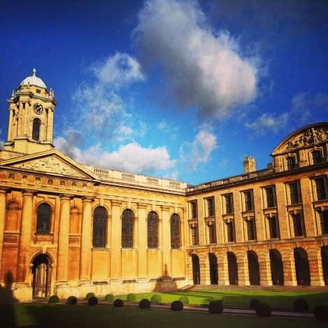 My university home at The Queen's College, Oxford