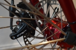 TRP dual pivot disk brakes, supposedly the best mechanical disk brakes, time to put them to the test.
